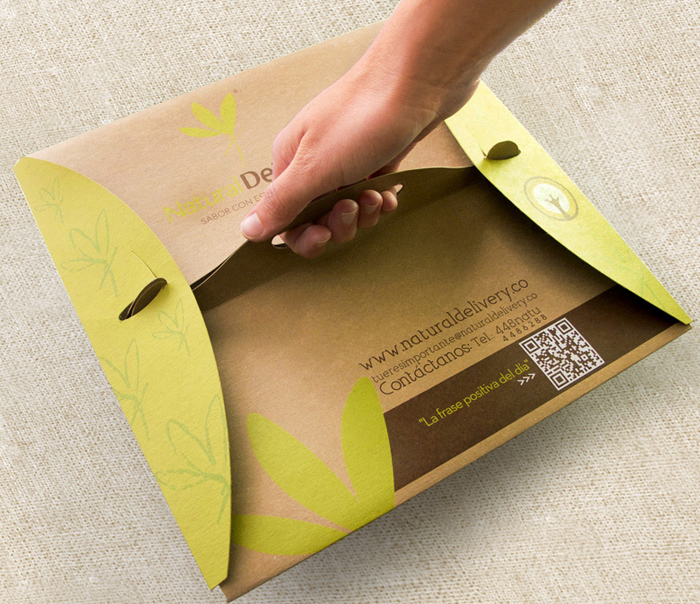 kraft paper packaging for food delivery