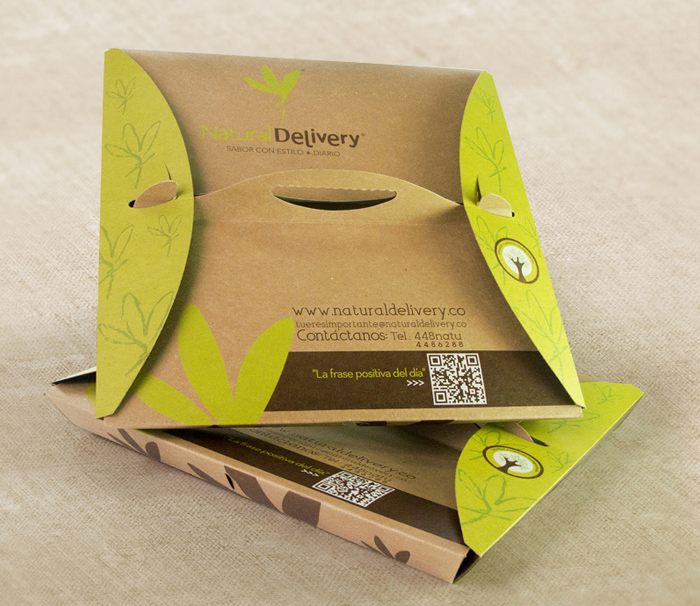 portable kraft food packaging
