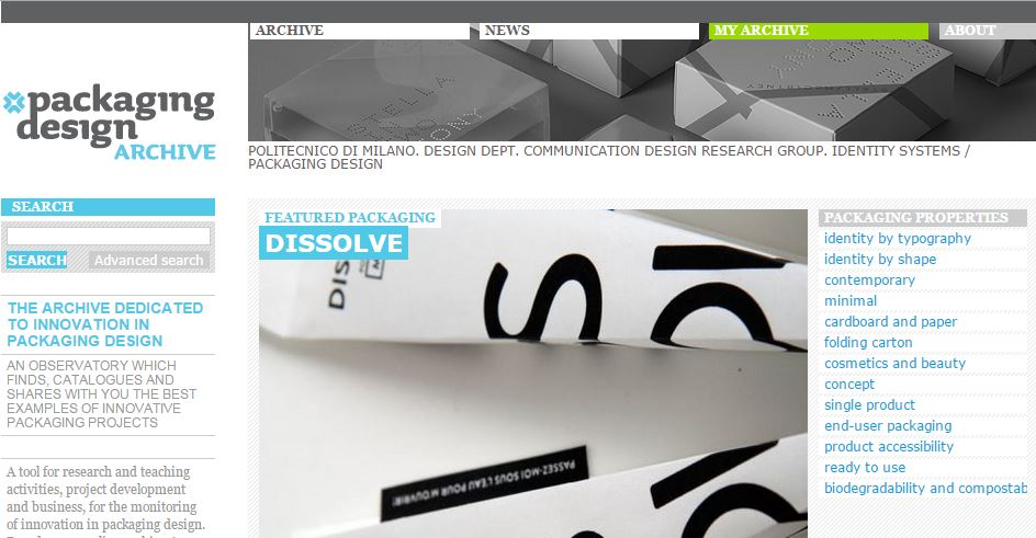 free packaging design resouces and websites