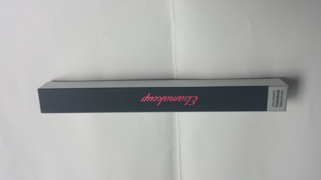 cosmetic paper box spot UV varnished embossed logo