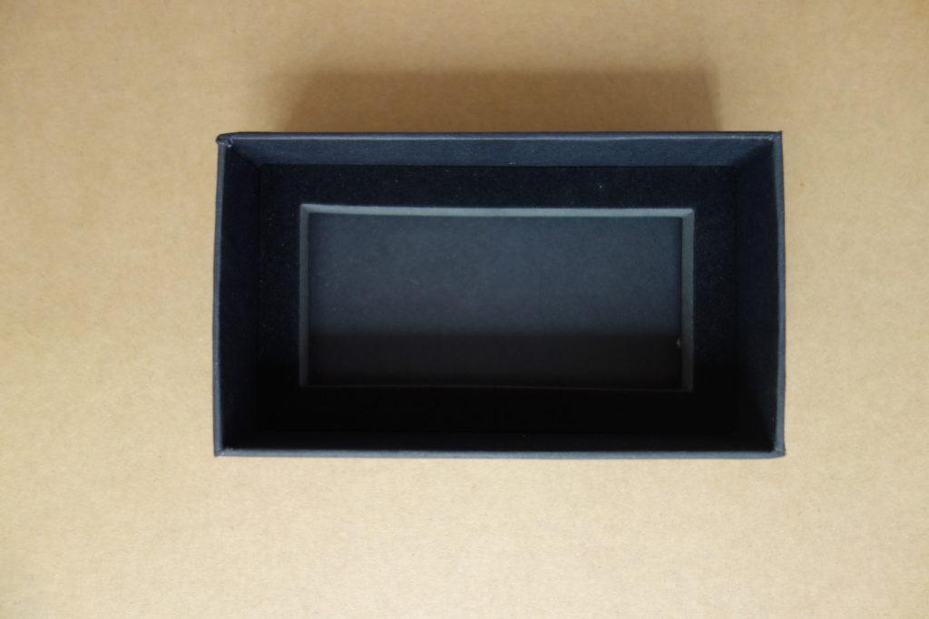 slide rigid box with the foam insert