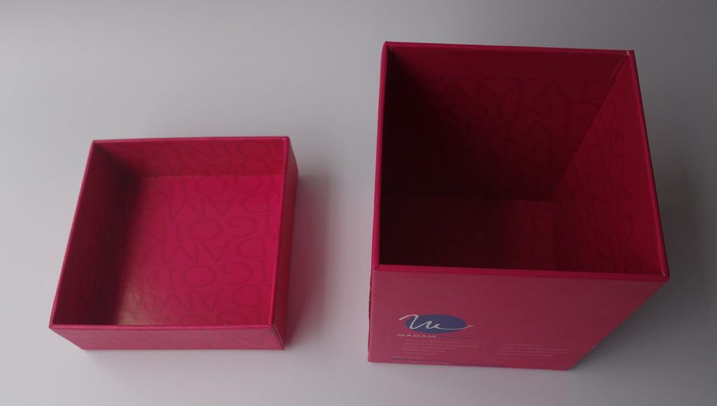lid and base rigid paper box