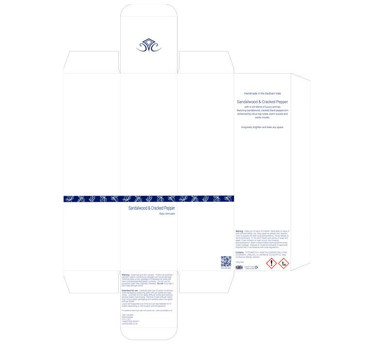 Blue Foil Paper Box