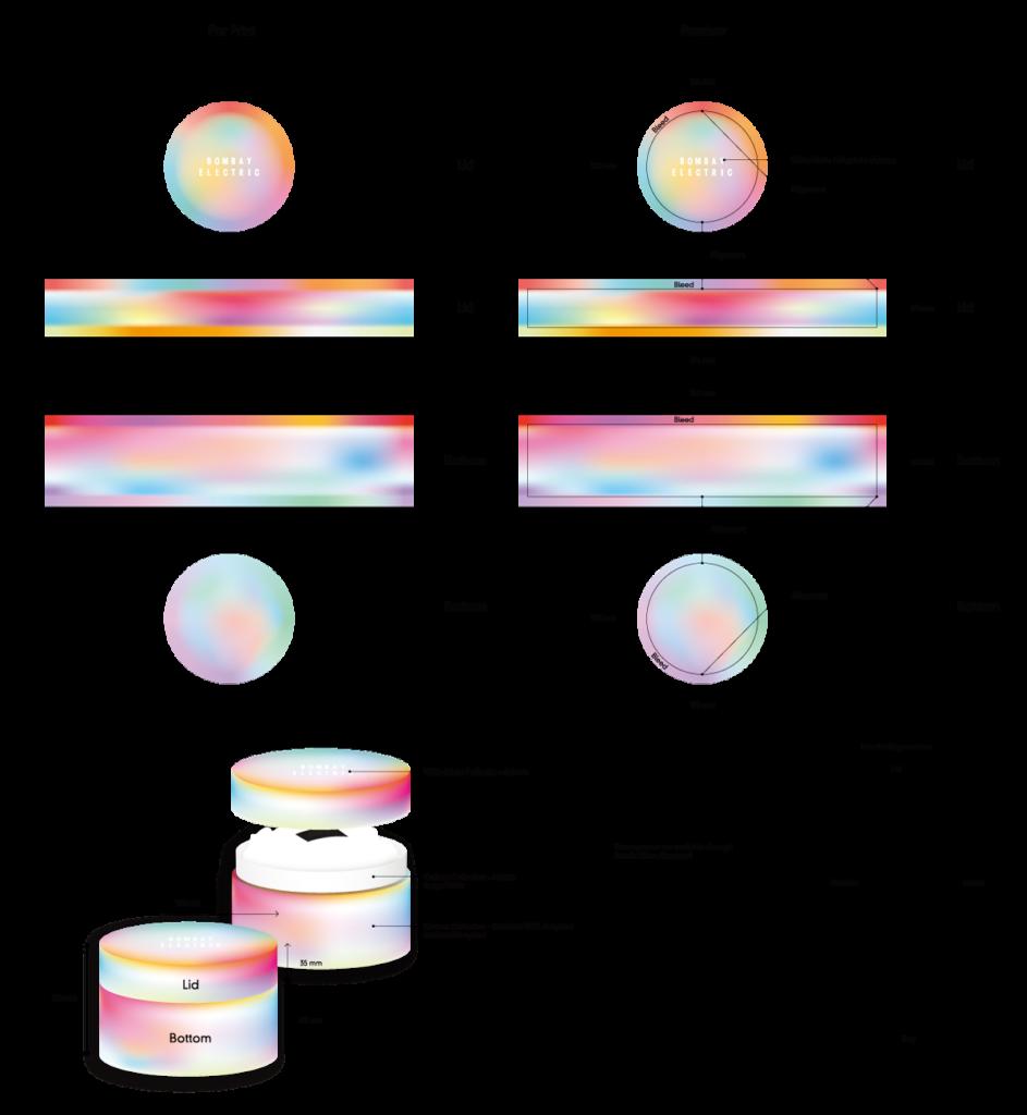 round paper box cylindrical paper box