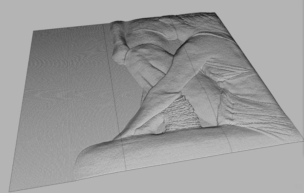 3D effect on a rigid paper box