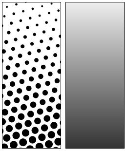 halftone explaination