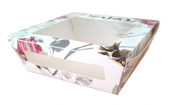 clear plastic folding box, pvc, pet box