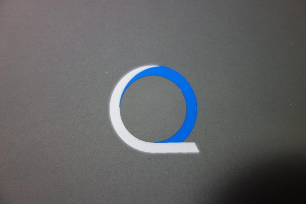 spot uv for the logo image of the rigid box