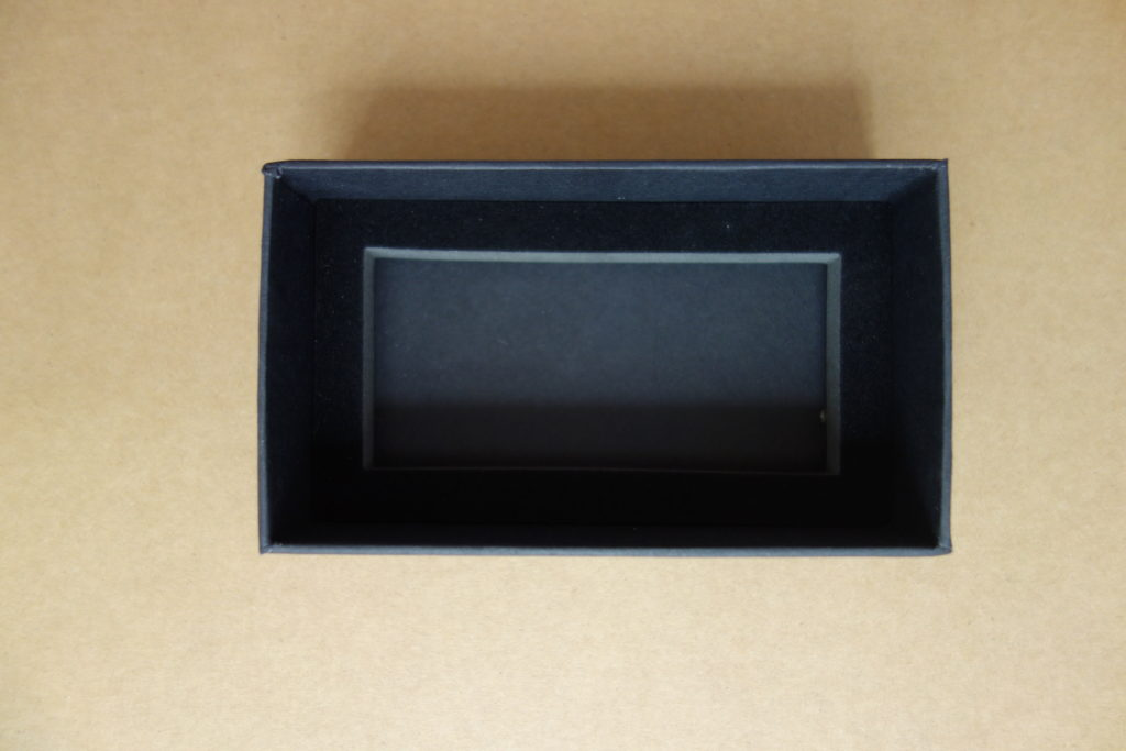 slide rigid box with the foam insert