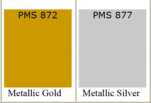 gold inks printing silver inks printing