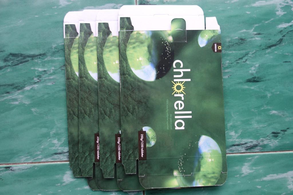 F flute corrugated printed box