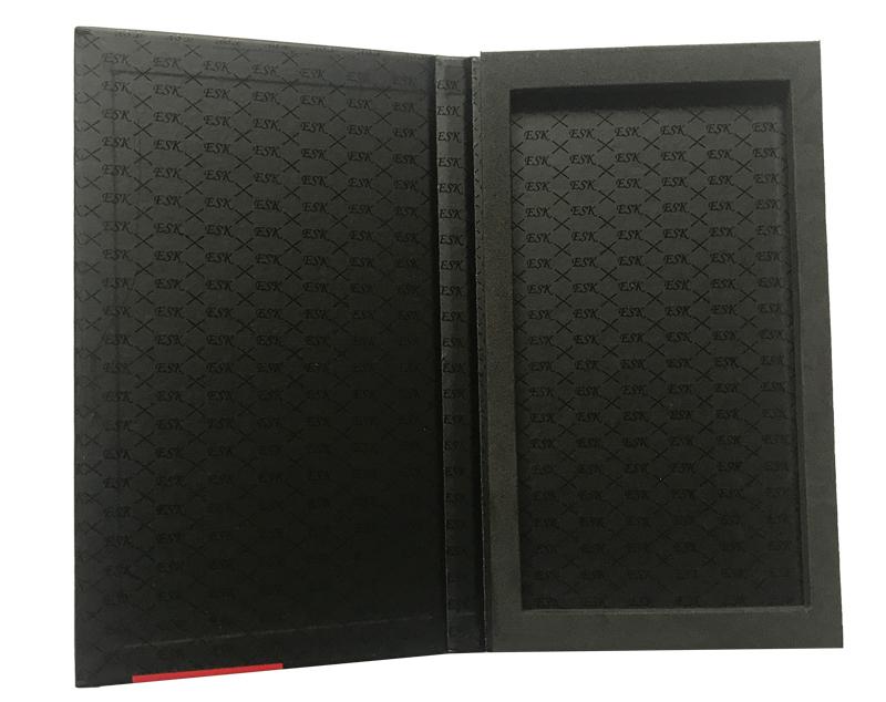 cardboard folder box book style