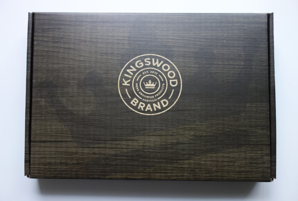 corrugated mailer box printed inside and outside
