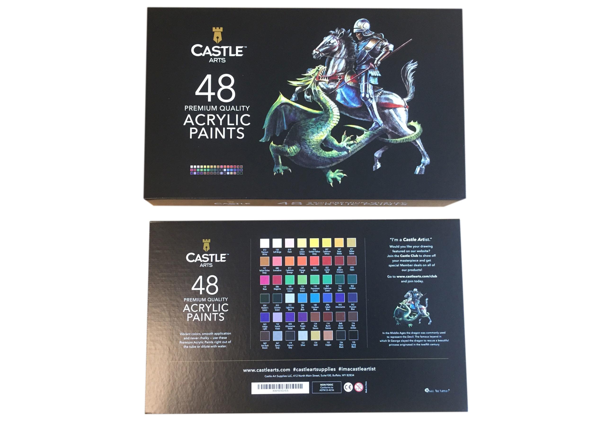 black color lift off lid rigid paper box
