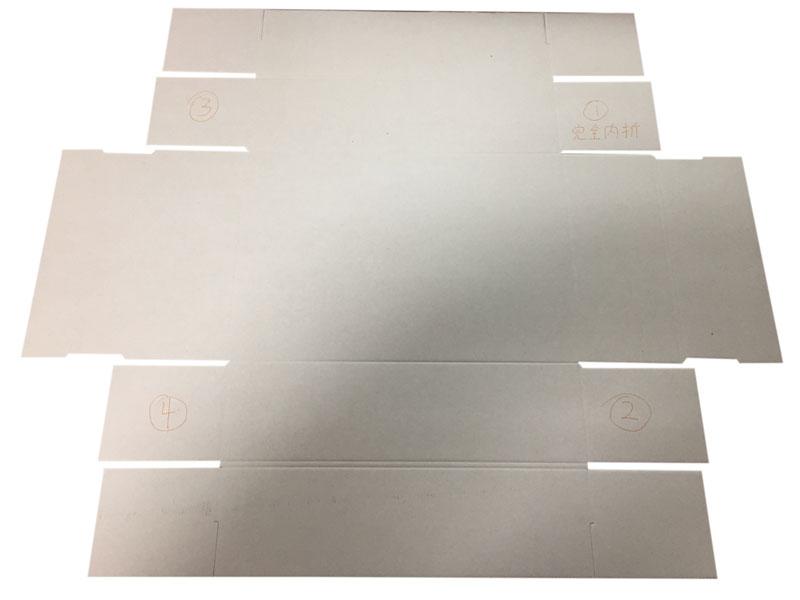 lift off lid rigid paper box