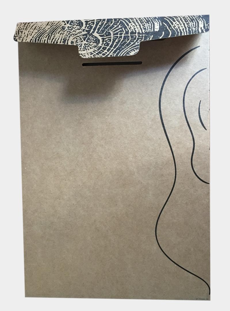 kraft paper printed box custom paper box