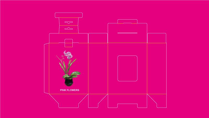 custom paper box dieline free dieline template