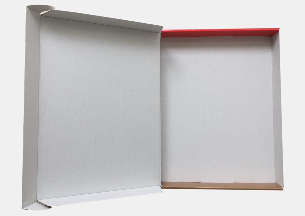 E flute corrugated printed box for toy blocks