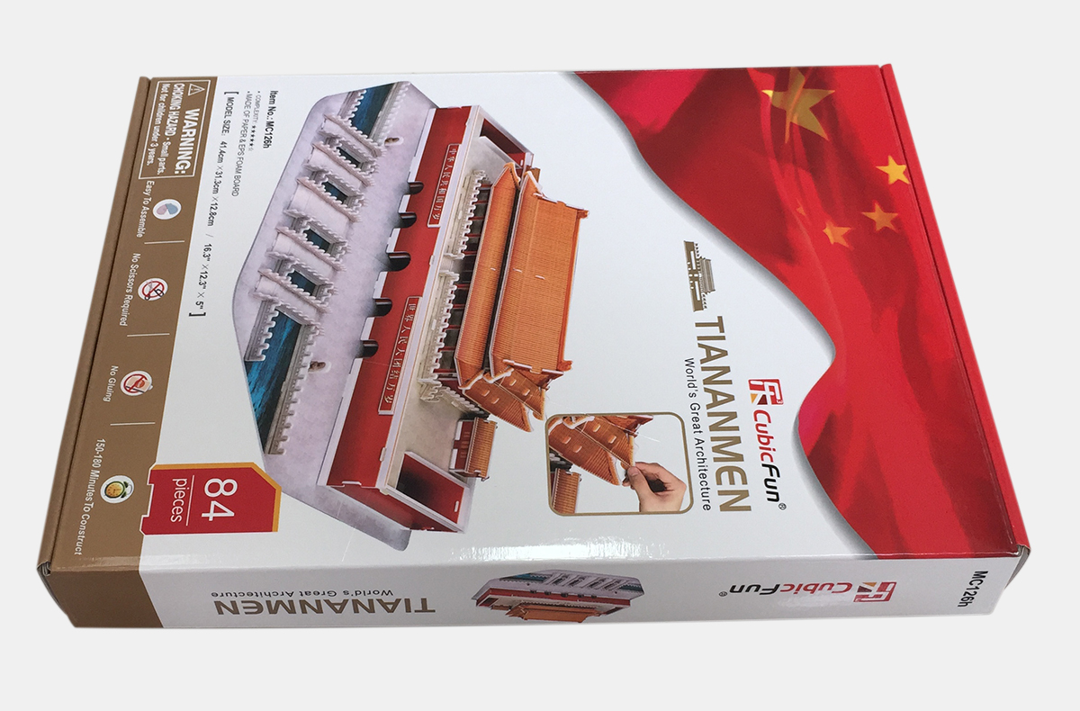 UV glossy corrugated printed box
