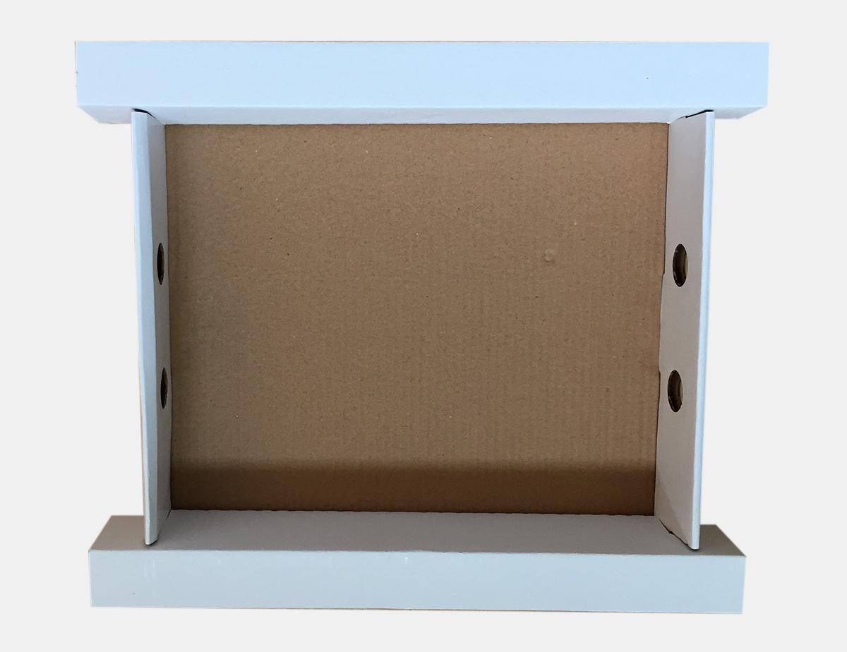 corrugated inserts inside corrugated printed box