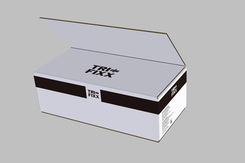 heavy duty corrugated printed box
