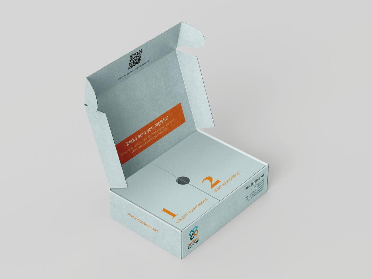 micro flute corrugated box printed