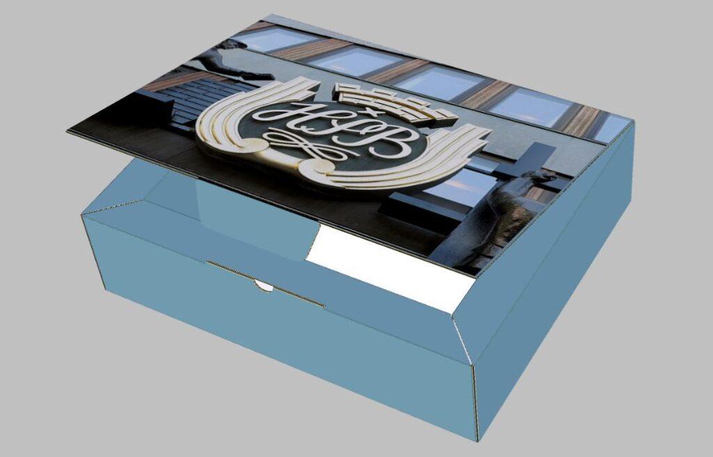 N flute corrugated box micro flute cardboard box